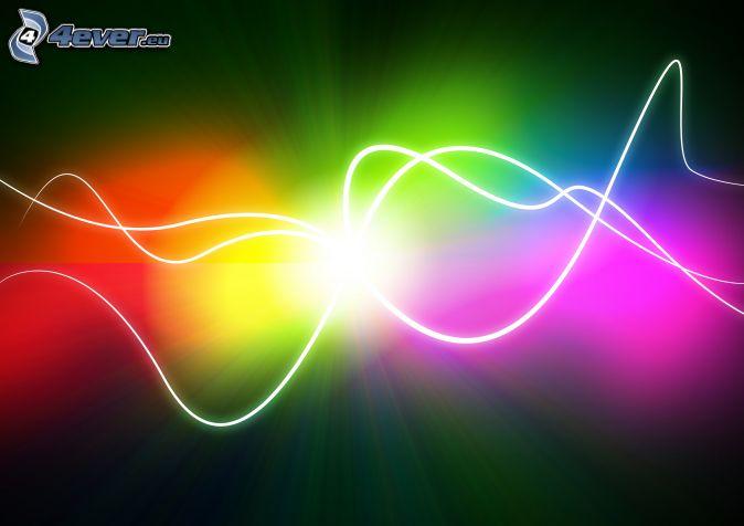 regenbogen muster bunte linien - photo #12
