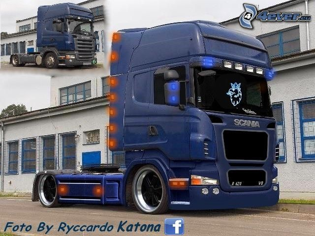 scania virtual tuning. Black Bedroom Furniture Sets. Home Design Ideas