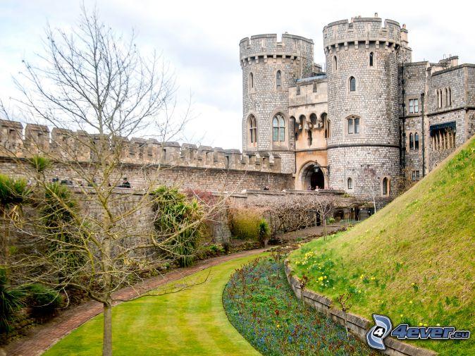 Windsor Castle, Garten