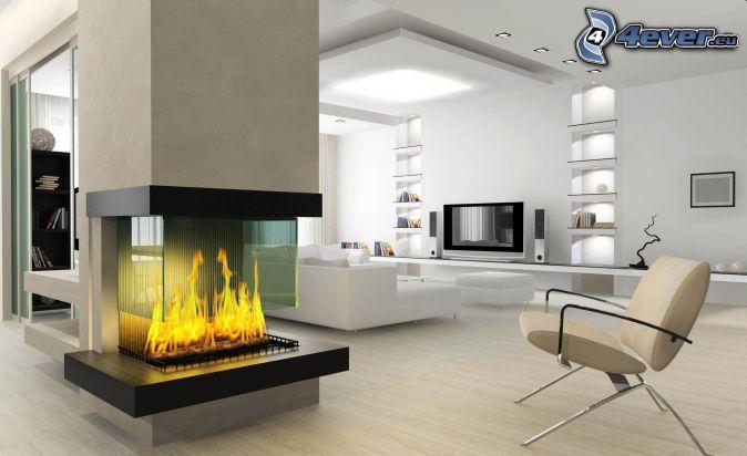 luxus wohnzimmer mit kamin brimobcom for - Kamin Fr Wohnzimmer