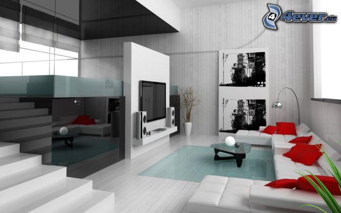 luxuri ses wohnzimmer. Black Bedroom Furniture Sets. Home Design Ideas