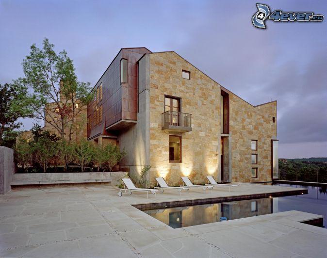 Holzzaun Haus Garten Design Idee