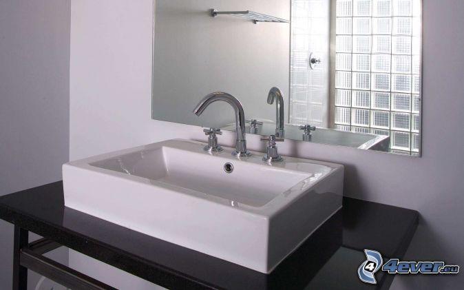 Spiegel for Waschbecken bad modern