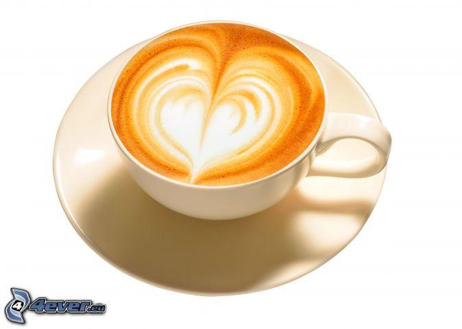 Herz - Bilder cappuccino ...