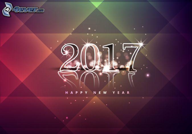 2017, glückliches Neues Jahr, happy new year
