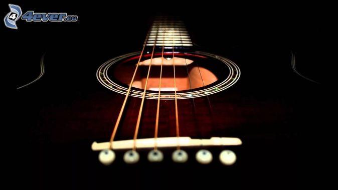 Gitarre, Saite