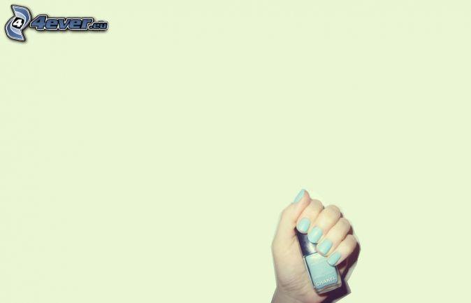 Hand, Lack