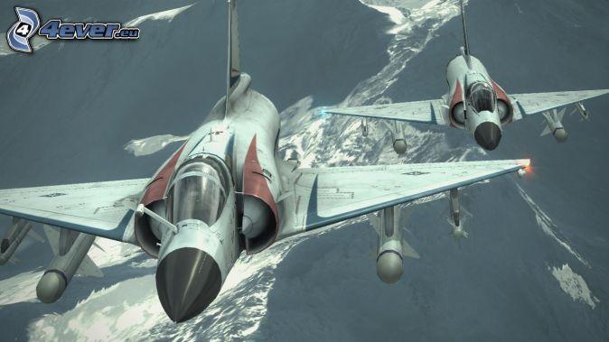Ace Combat 6, Jagdflugzeuge