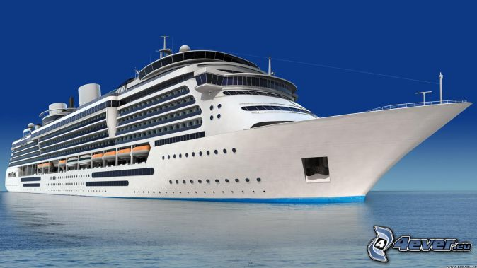 Luxus-Schiff