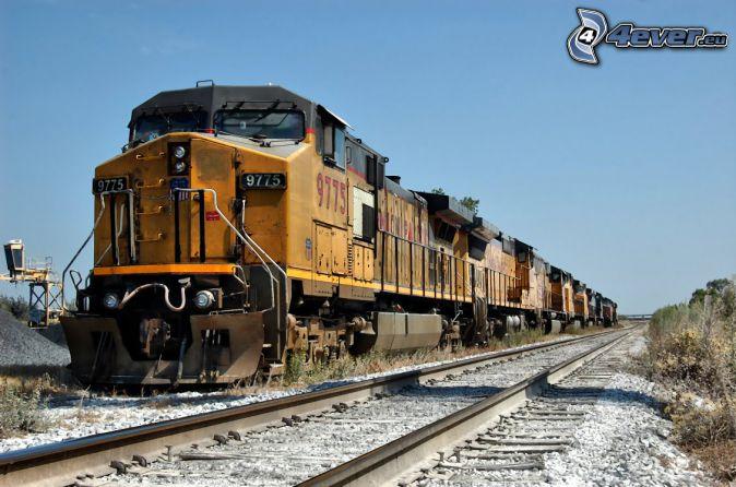 Union Pacific, Schienen