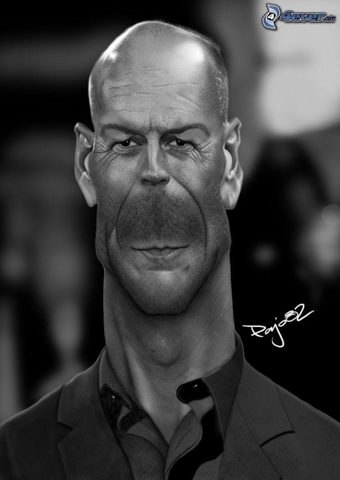 Bruce Willis Größe