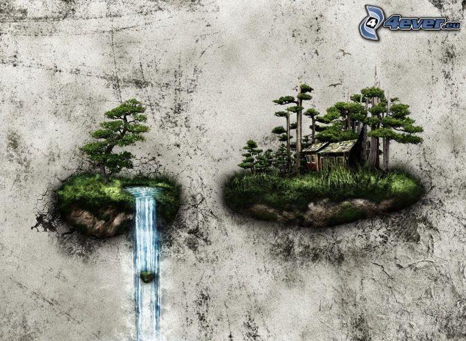 Wasserfall - Wasserfall wand ...