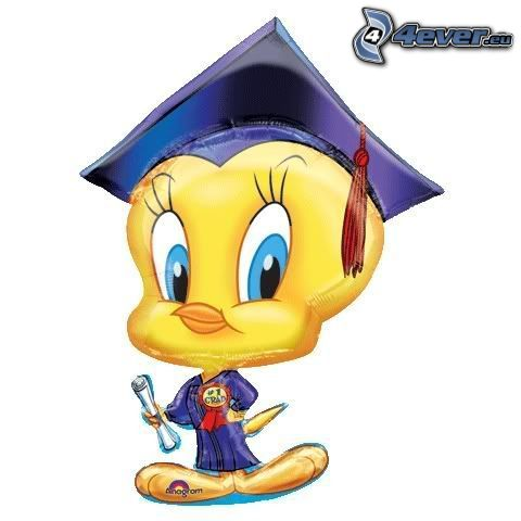 Graduate Tweety