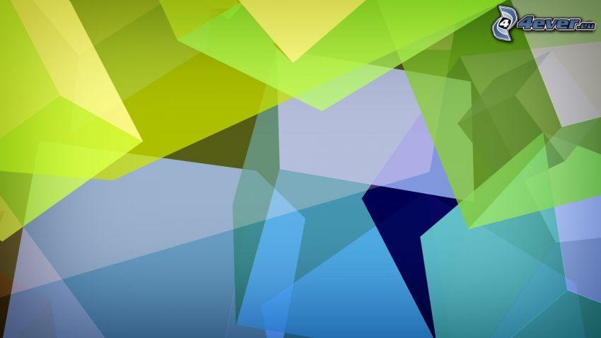 abstrakte Quadrate