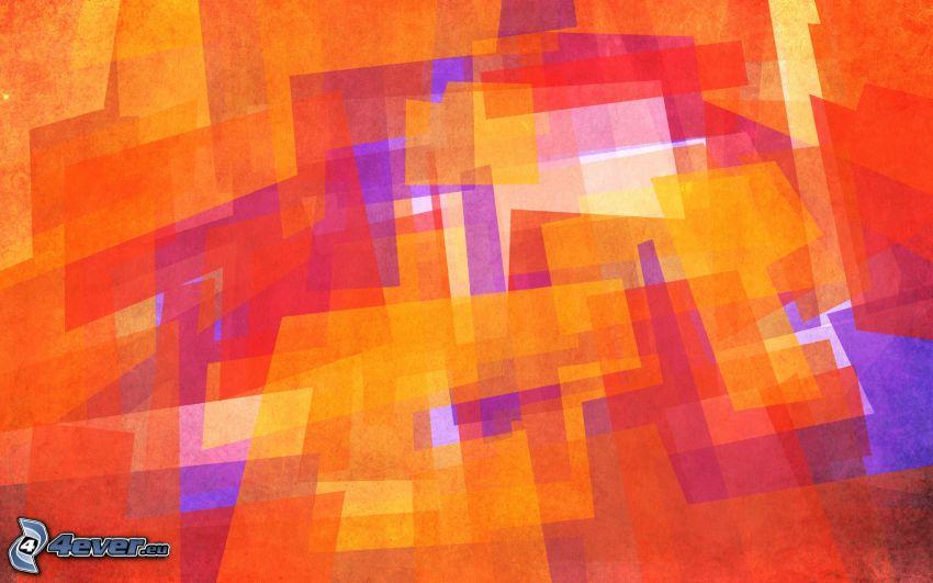 abstrakte Rechtecke