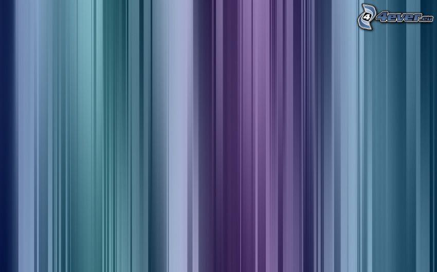 blauen Streifen