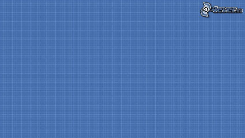 blauer Hintergrund, Quadrate