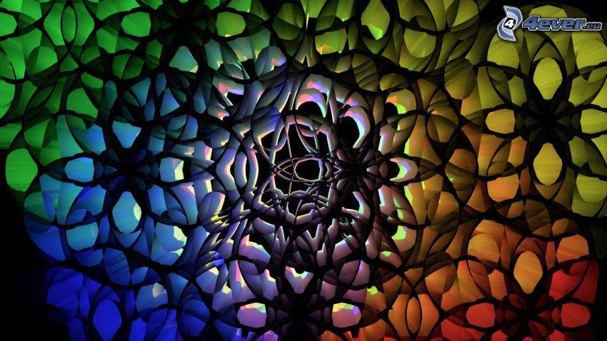 farbiger Hintergrund, Farben
