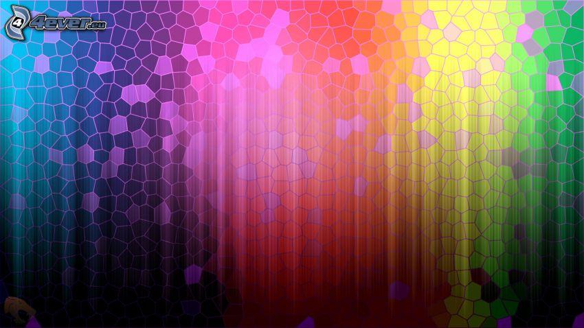 farbiger Hintergrund, Regenbogenfarben