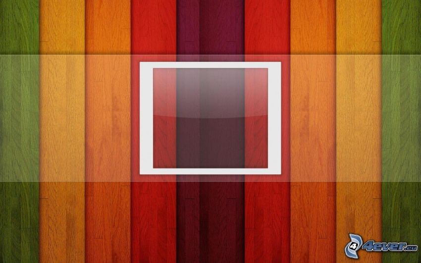 Farbstreifen, Quadrat