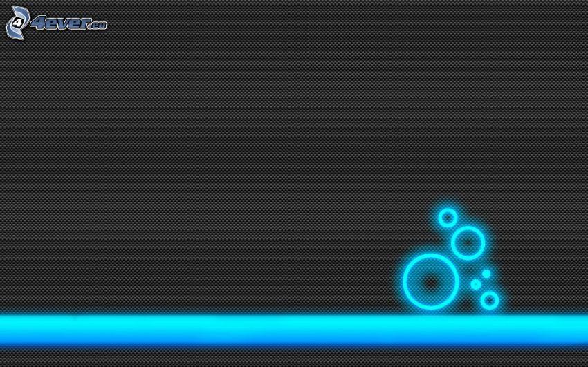Gürtel, Kreisen, Neon