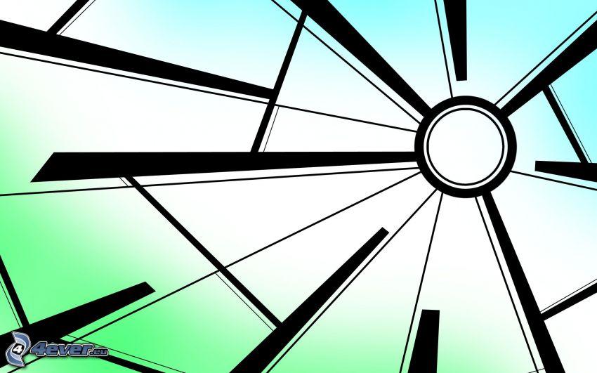 Kreis, Linien, Formen