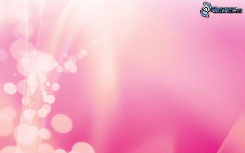 Kreisen, rosa Hintergrund
