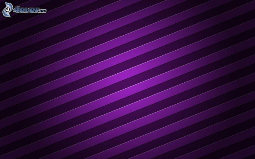 Linien, violett Hintergrund