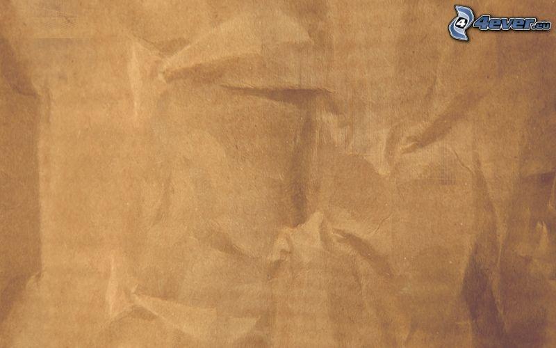 Papier, braunen Hintergrund