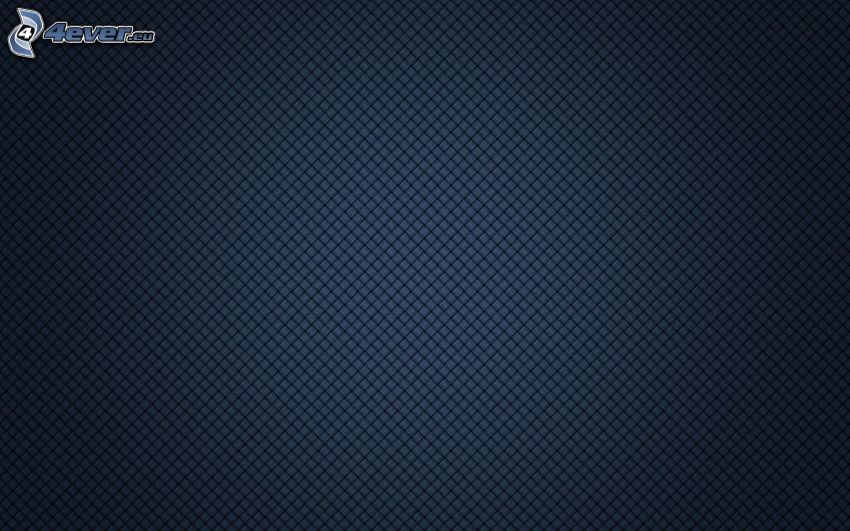 Quadrate, blauer Hintergrund