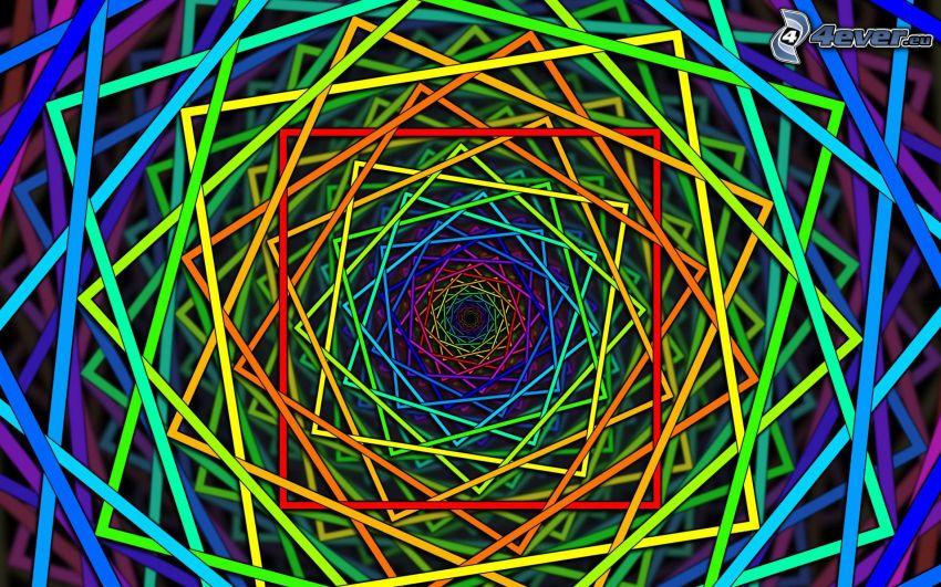 Quadrate, Farben