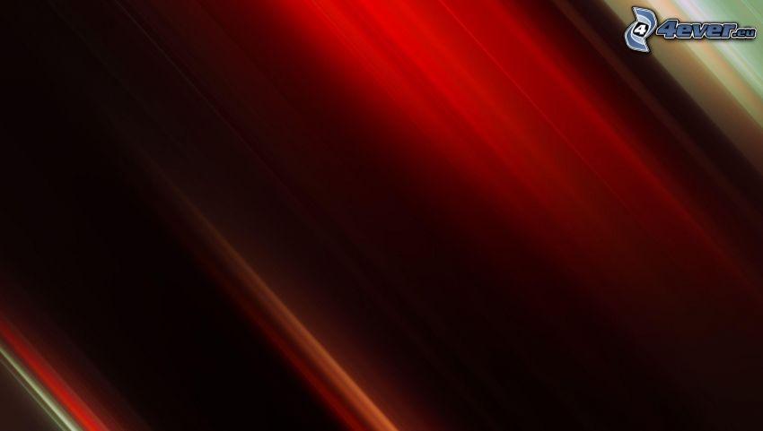 roter Hintergrund, Linien