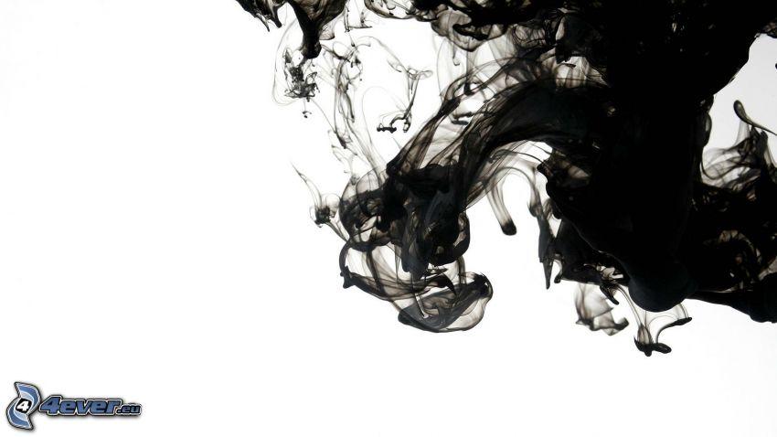 Tinte, schwarz, Farbe