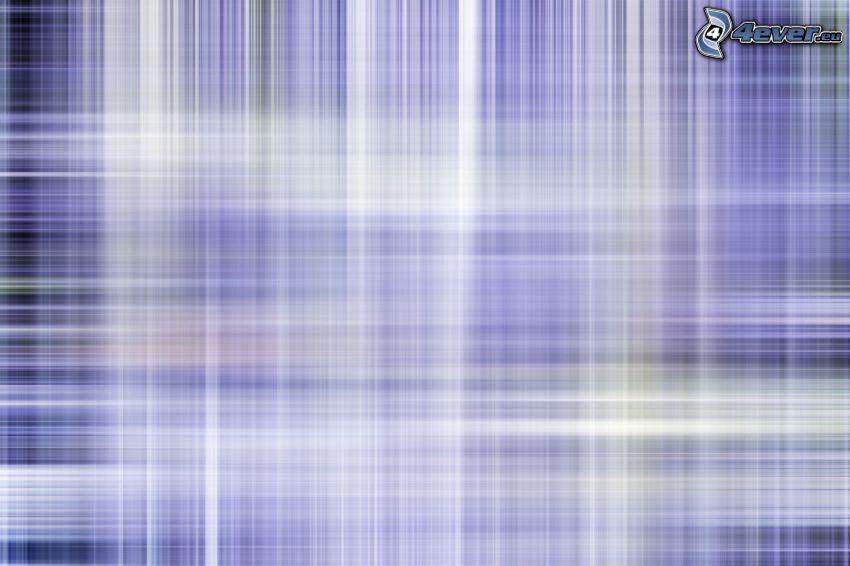 weiße Linien, violett Hintergrund