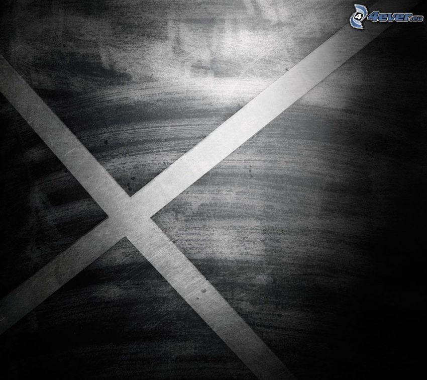 X, Linien