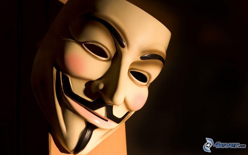 Anonymous, Maske