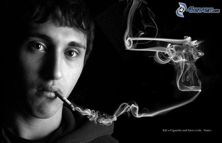 antiraucher-Kampagne, Rauch tötet, Revolver