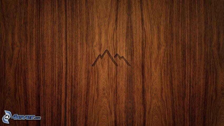 Berge, Holz