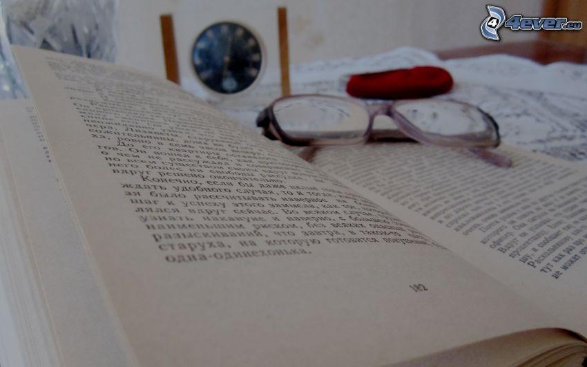 Buch, Brille