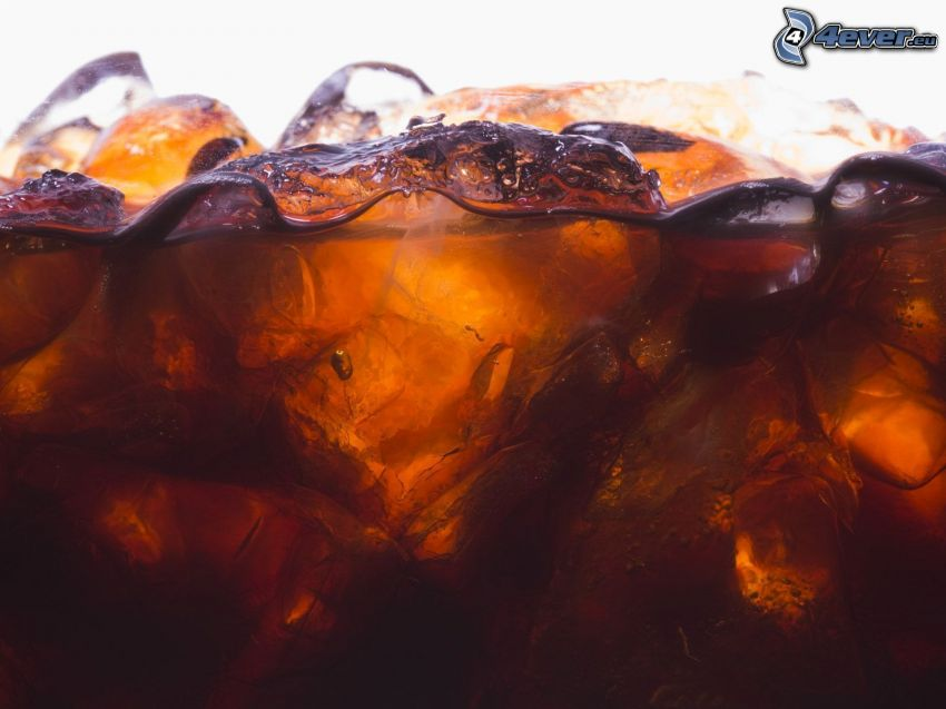 Coca Cola mit Eis
