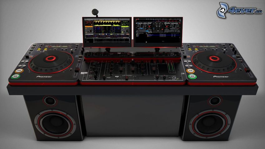 DJ-Konsole