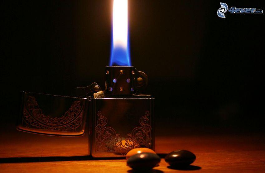 Feuerzeug, Flamme