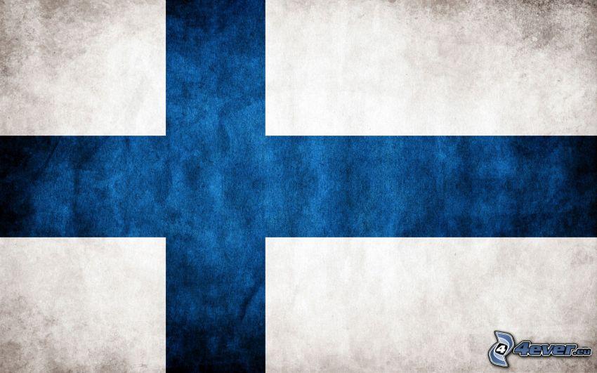 Finnischer Flagge
