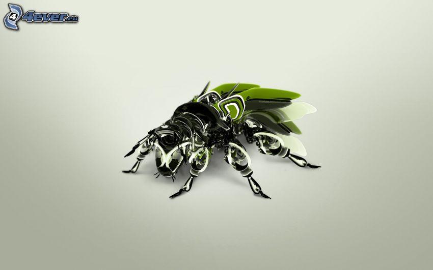Fliege, Robot