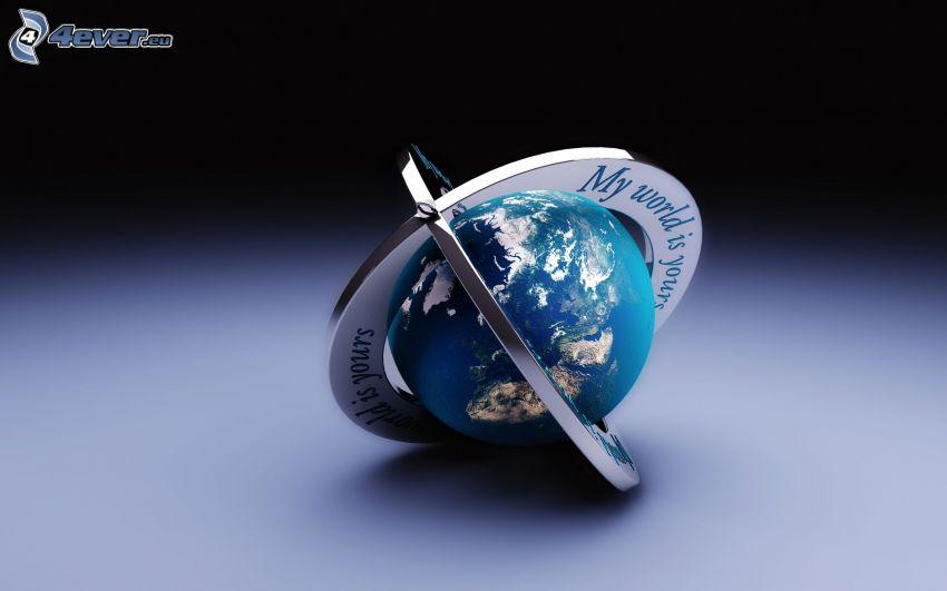 Globus, Anhänger