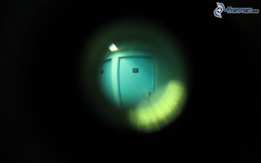 Guckloch, Tür