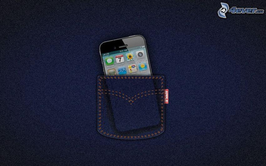 iPhone, Tasche