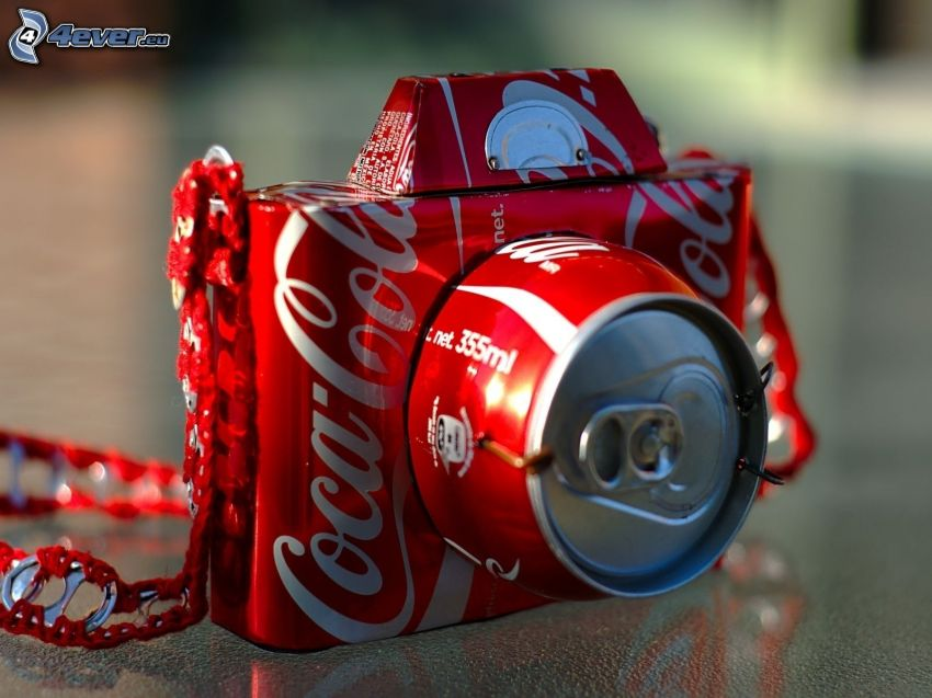 Kamera, Coca Cola