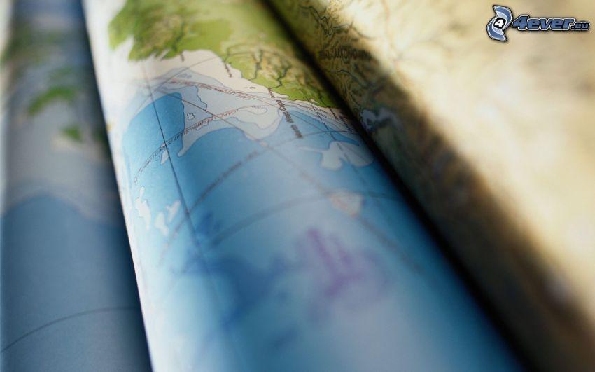 Karte, Atlas