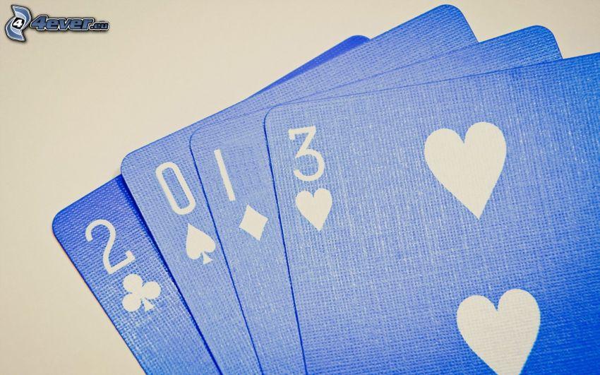 Karten, 2013